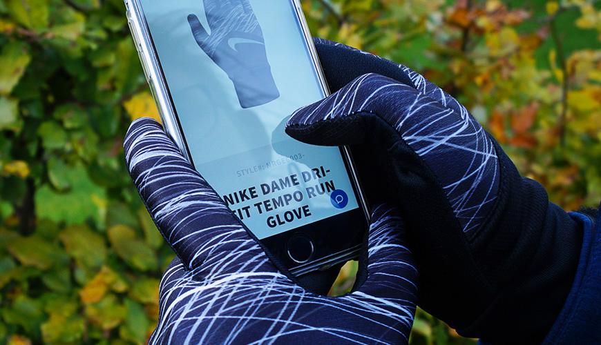 løbe handsker