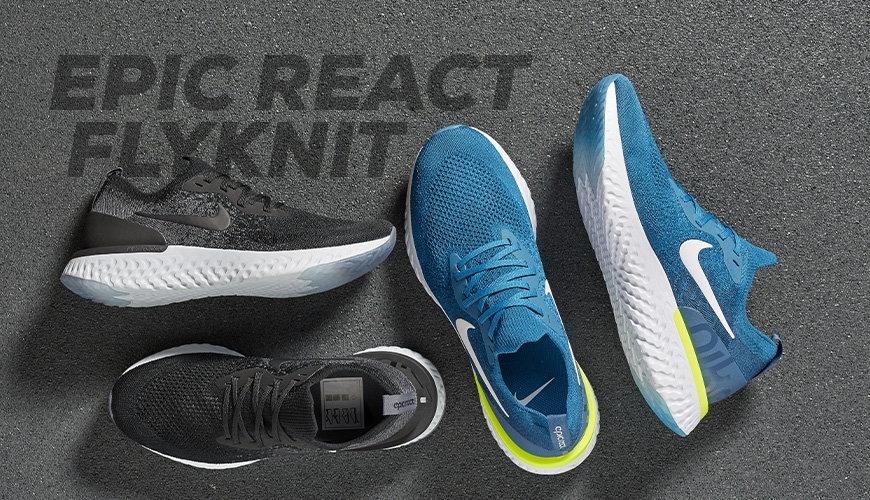 uk availability dcce6 44fda Nike Epic React Flyknit