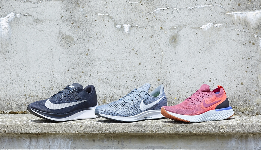 new style fb591 da8fb Nike Zoom Fly vs. Nike Pegasus 35 vs. Nike Epic React Flyknit