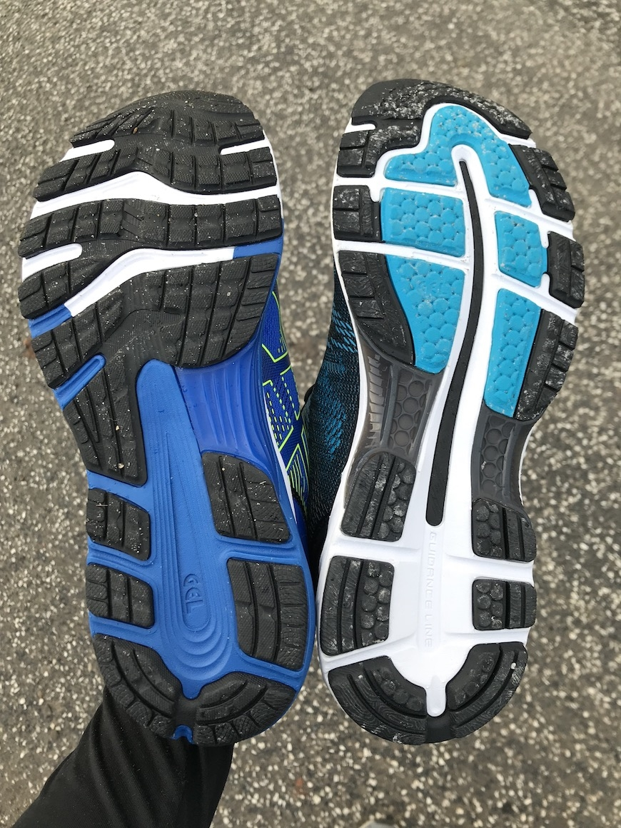 Recension: Asics GEL Nimbus 21 vs. Nimbus 20 – Se skillnaden