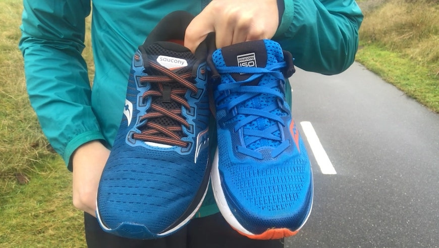 saucony guide 13 vs iso 2