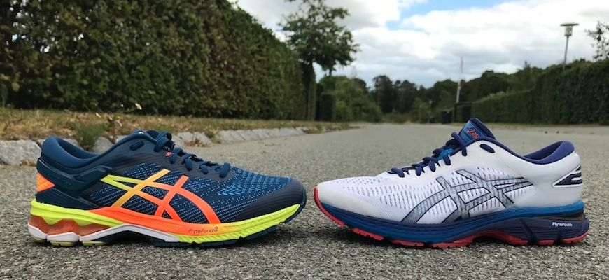 asics gel-kayano 26 vs 25 yderside