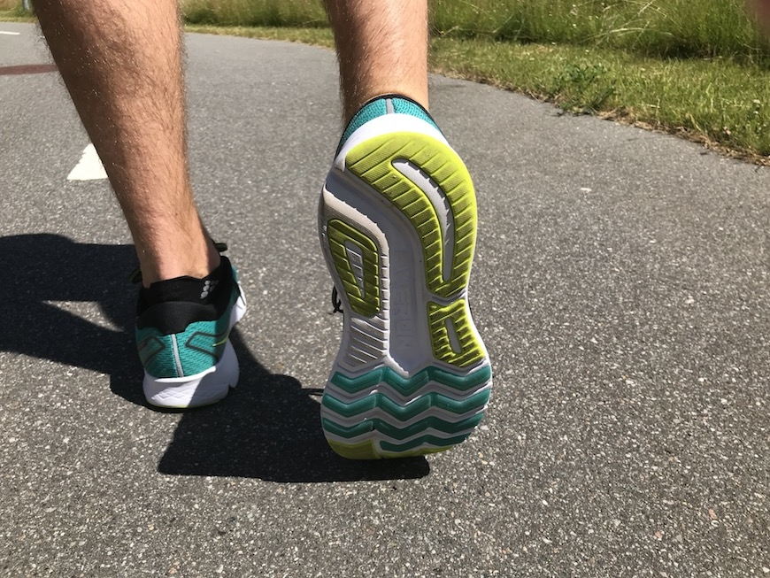 saucony ride iso 2 - Yttersula