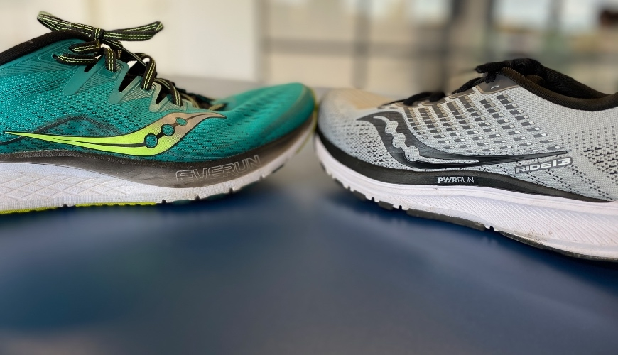 saucony ride iso 2 vs. ride 13