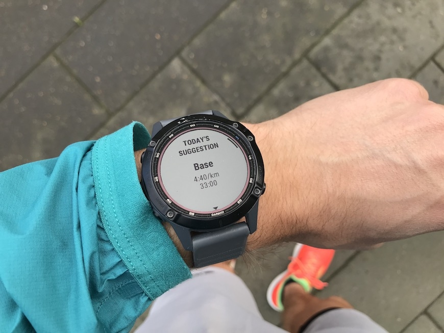 Garmin daily suggested workout