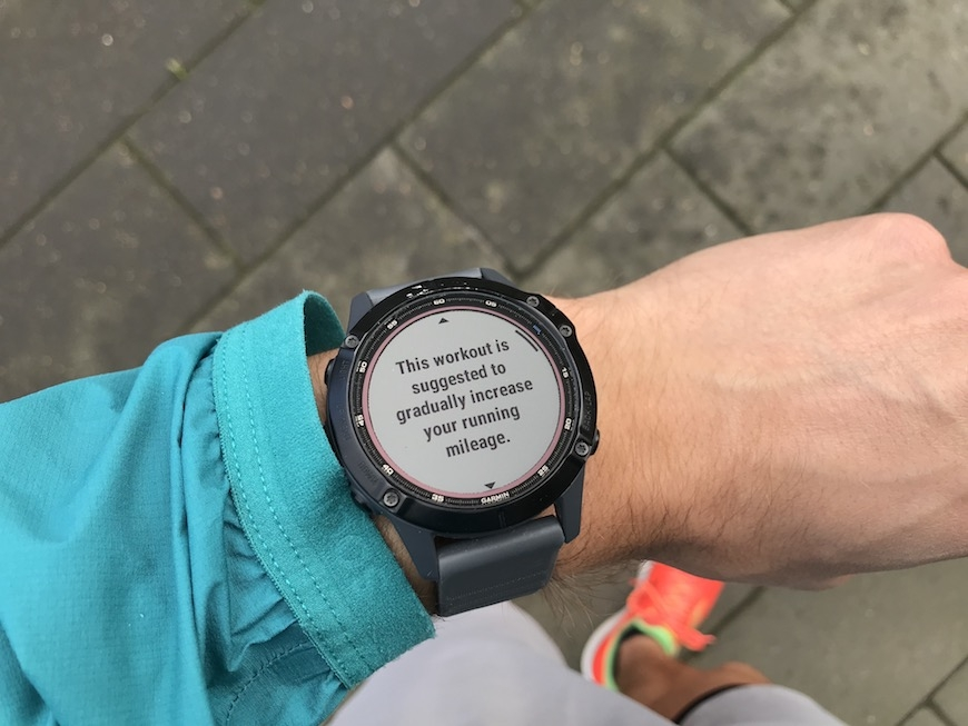 Garmin daily suggested workout 2