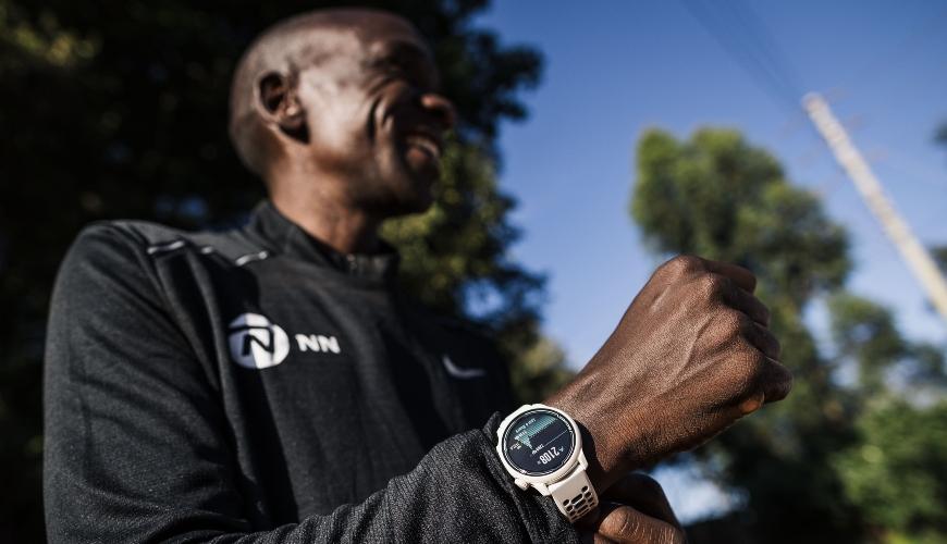 verdensrekordholder på maraton-distancen, Eliud Kipchoge